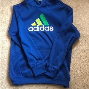 Adidas boys sweater with hood